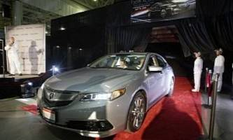2015 acura tlx production begins in ohio